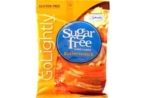 Go Lightly Sugar Free Candy, Butterscotch, 2.75oz Bag 030568121121T185