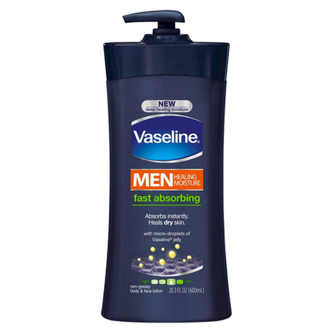 Vaseline Men Healing Moisture Lotion 20.3oz 305210416383T643