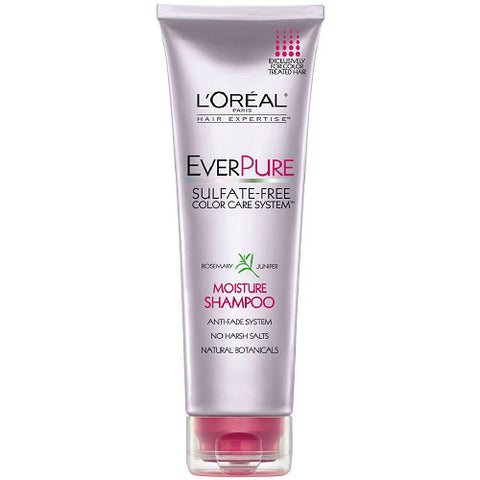 L'Oreal Ever Pure Shampoo, Moisture Color Care, 8.5oz 071249155516A437
