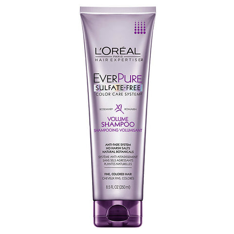 L'Oreal Ever Pure Shampoo, Volume Color Care, 8.5oz 071249155479A480