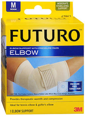 Futuro Elbow Support With Pressure Pads Medium, 1ct 051131200555T950