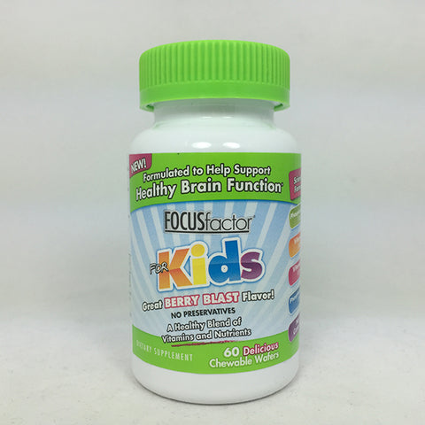 FOCUSfactor for Kids, Healthy Brain Function, 60ct 726000105032T992