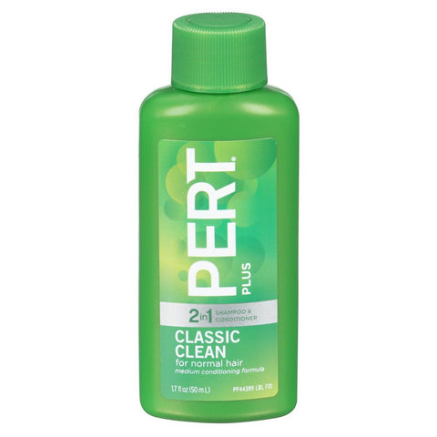 Pert Plus 2 in 1 Travel Size, 1.7oz, 12ct 883484443897S990