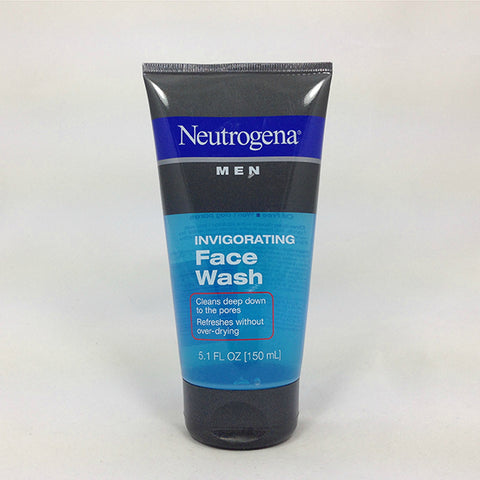 Neutrogena Men Invigorating Face Wash, 5.1oz 070501020234T430