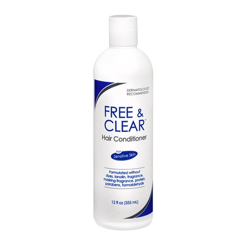 Free & Clear Sensitive Skin Hair Conditioner, 12oz 345334210122T747