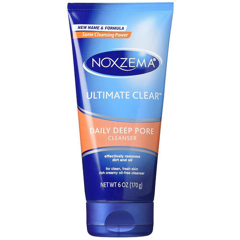 Noxzema Ultimate Clear Daily Deep Pore Cleanser, 6oz 087300560083T318