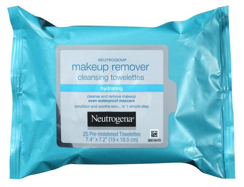Neutrogena Hydrating Makeup Remover Towelettes, 25ea 070501152256T504