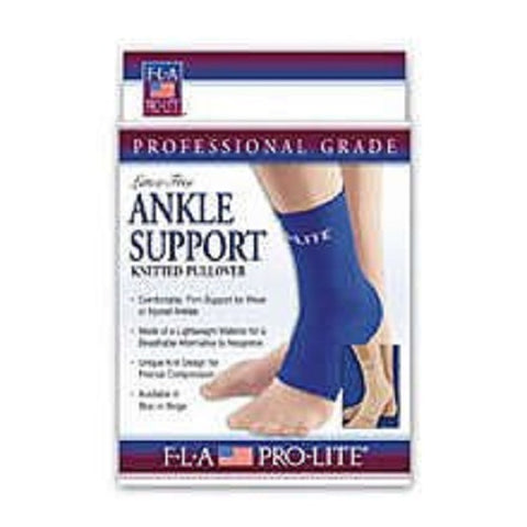 Fla Compressive Knit Ankle Support, Medium, 1ct 719869539896S1035