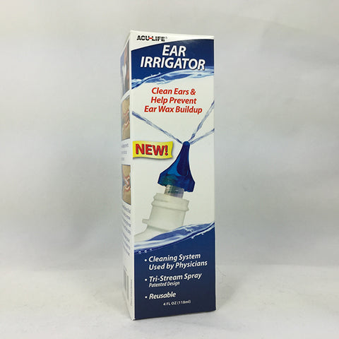 Aculife Ear Irrigator Reusable Liquid, 4oz 079573107331T502