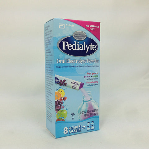 Pedialyte, Maintenance Powder, Variety Pack, 8ct 070074560915F877