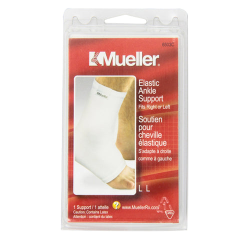 Mueller Sport Care Elastic Ankle Support, Large, 1ct 074676650319T339