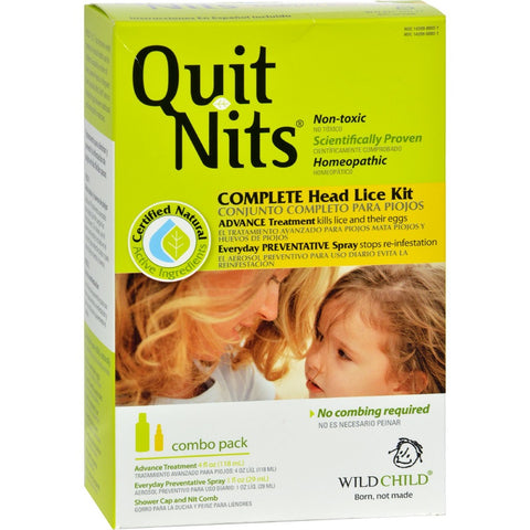 Hyland's Quit Nits Complete Head Lice Kit, 1ct 814399000110S1200