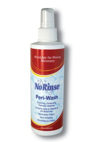 No Rinse Peri-Wash Spray, 8oz 075244007009A190