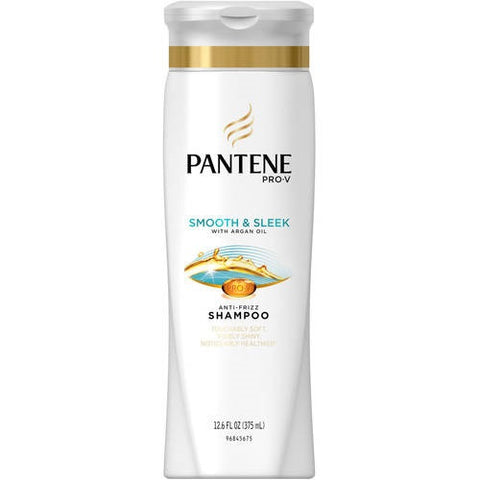 Pantene Pro-V Smooth Anti-Frizz Shampoo, 12.6oz 080878042227S375