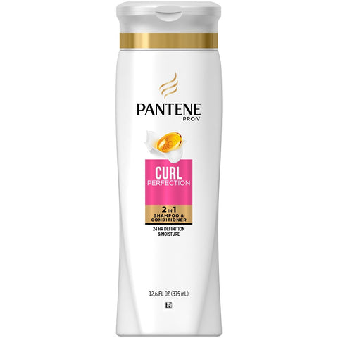 Pantene Pro V 2-n-1 Shampoo, Curl Perfection, 12.6oz 080878042326S354