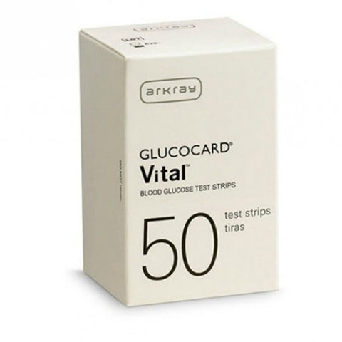 Arkray Glucocard Vital Test Strips, 50ct 015482760502A749