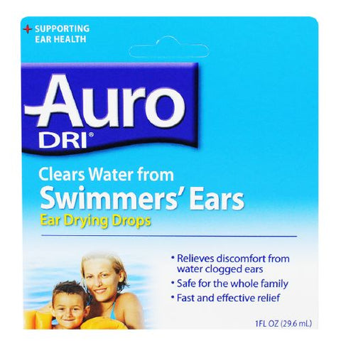 Auro-Dri Ear Water-Drying Aid, 1oz 363736327002T191