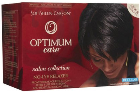 Optimum Defy Breakage No Lye Relaxer, Regular, 1ct 075285204825S680