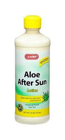 Leader Aloe After Sun Lotion, 16oz 096295119732A249