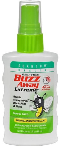 Quantum Buzz Away Extreme Insect Repellent, 2oz 046985016216S509