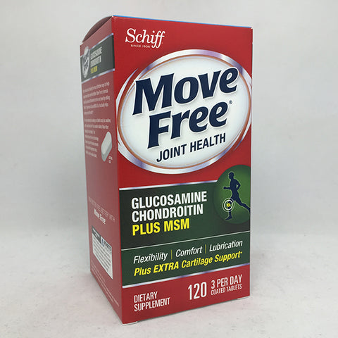 Schiff Move Free Bone & Joint Supplement, 120ct 020525118684T1864