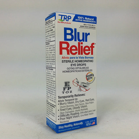 TRP Blur Relief Eye Drops, 0.5oz 858961001020S600