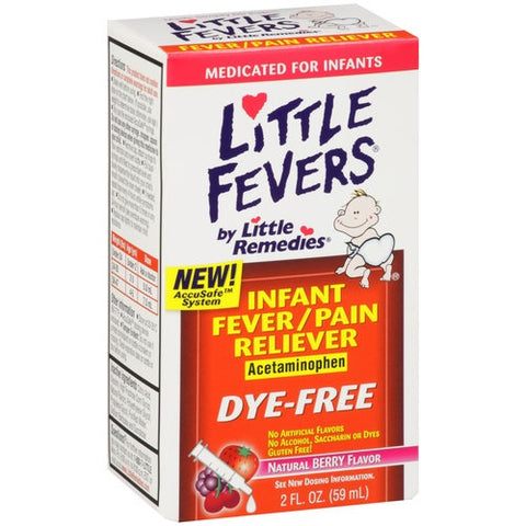 Little Remedies for Fever&Pain, Berry, 2oz 756184101766S489