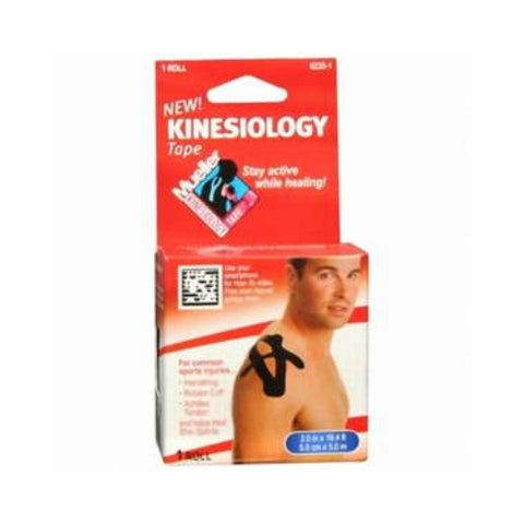 Mueller Kinesiology Tape, Black, 2in x 16ft, 1 ct 074676623511S666
