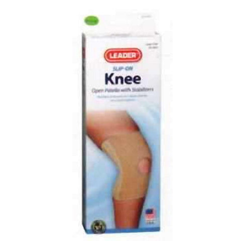 Leader Knee Elastic Support with Stabilizers, SM, 1ct 096295121605T788