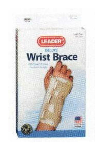 Leader Deluxe Wrist Brace, Right, Small/Medium, 1ct 096295121520S905