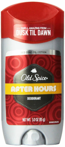 Old Spice Red Zone Collection Deodorant, After Hours, 3oz 012044037515A338