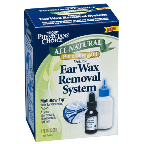 Physician's Choice All Natural Ear Wax Removal, 1oz 031046605065T535