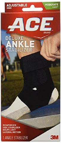 Ace Deluxe Ankle Stabilizer, Adjustable, 1ct 051131197947A1086
