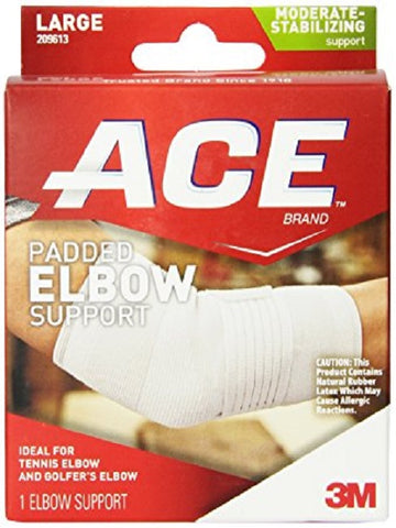 Ace Padded Elbow Support, Large, 1ct 051131198128A951