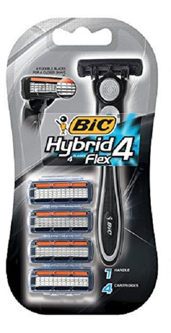 Bic Hybrid Flex 4 Disposable Blade System, 1ct 070330726550S586