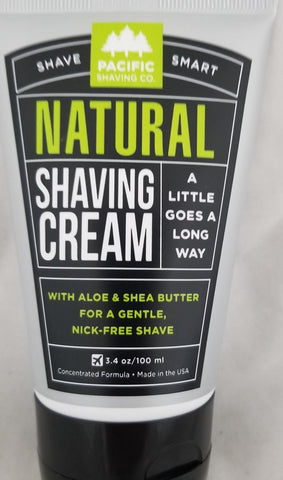 Pacific Shaving Company, All Natural Cream, 3oz 186356000038J420