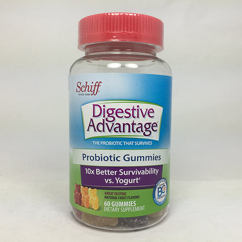 Schiff Digestive Advantage Probiotic Gummies, 60ct 020525183675T1104