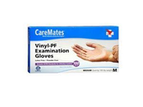 CareMates Vytrile Examination Gloves, Large, 100ct 715912104134A639