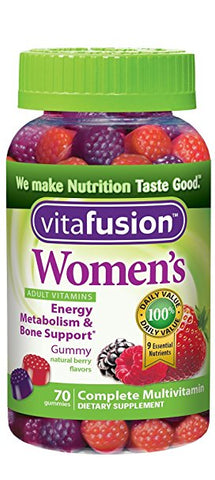 Vitafusion Women's Daily Multivitamin, Gummies, 70ct 027917022680T427