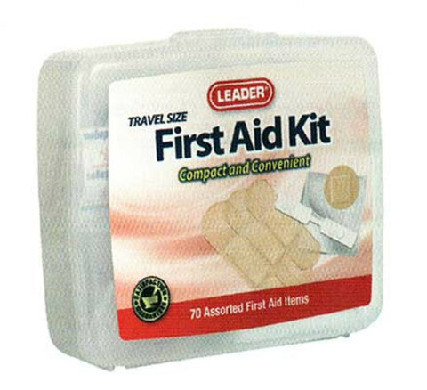 Leader First Aid Kit, 70 Pieces, 1ct 096295123012A424