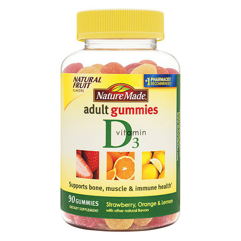Nature Made Vitamin D3 Adult Gummies, 90ct 031604028442A610