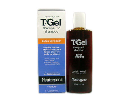 Neutrogena T/Gel Extra Strength Shampoo, 6oz 070501094662S682