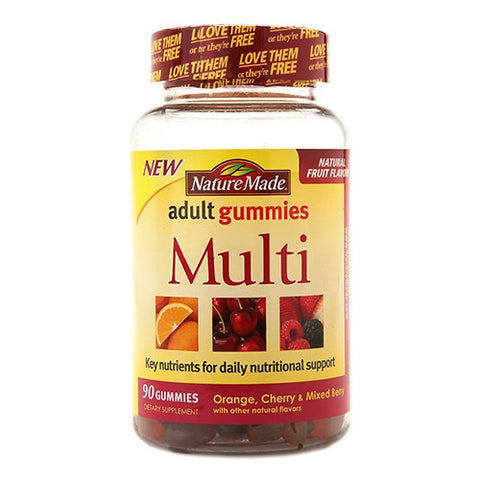Nature Made Multi Adult Gummies, 90ct 031604028411A758