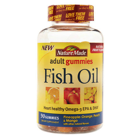 Nature Made Fish Oil Adult Gummies, 90ct 031604028428A828