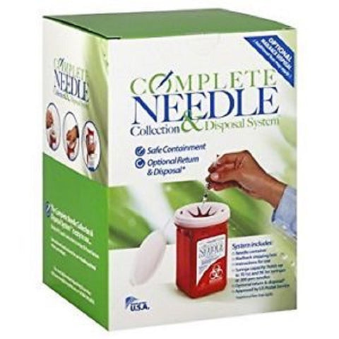Sharps Complete Needle Collection and Disposal System 634188101046R919