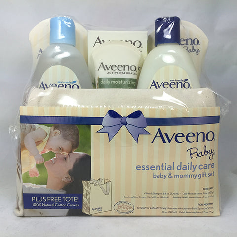 Aveeno Baby Essential Daily Care Mommy/Baby Gift Set 381371016761A2582
