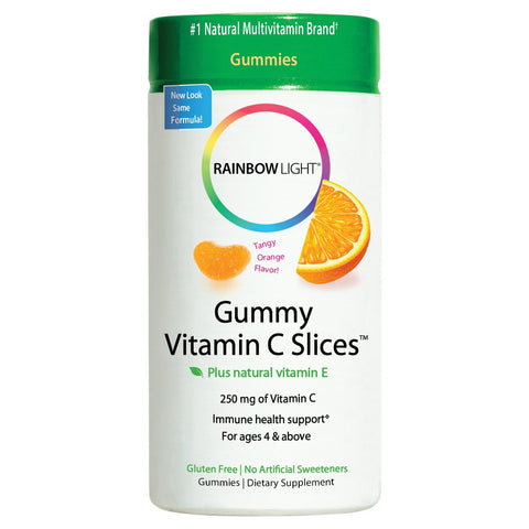 Rainbow Light Vit. C Slice Orange Gummies, 250mg, 75ct 021888302413A540