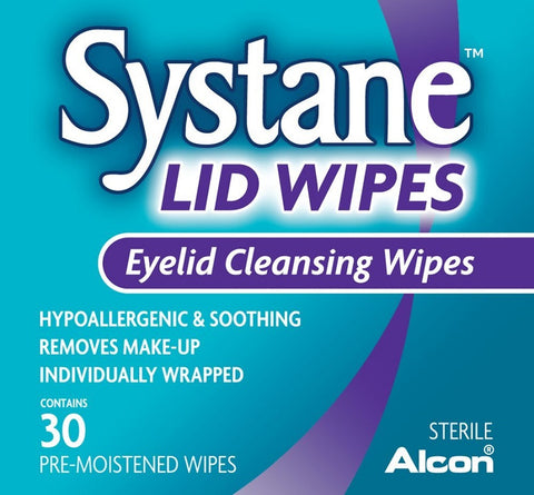 Systane Lid Wipes, Eyelid Cleansing Wipes, 30ct 300658052025A899