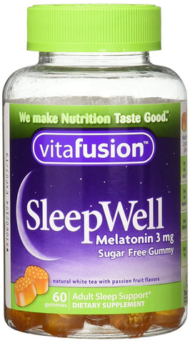 Vitafusion SleepWell Gummies, Sleep Aid for Adults, 60ct 027917023106T450