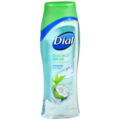 Dial Coconut Water Body Wash, 16oz 017000092881S503